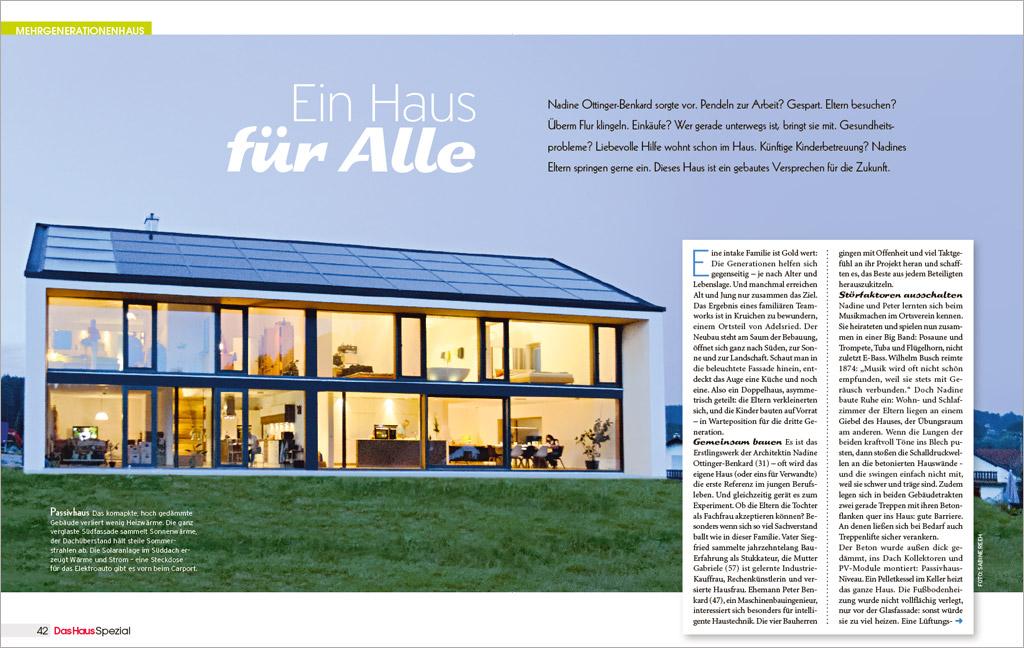 """Artikel im Heft """"Das HausSPEZIAL"""""""